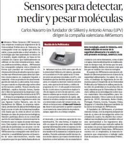 Nuevo equipo de detección molecular creado por AWSensors