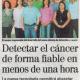 Noticia sobre LiqBiopSens, proyecto para desarrollar equipo de diagnóstico de cáncer con biopsia líquida